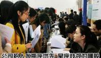"""【中英双语】中国求职者成了""""星座歧视""""的受害者"""